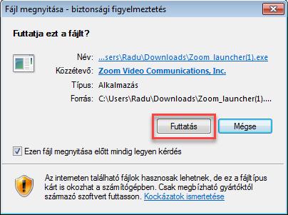 Google Chrome böngészőben: